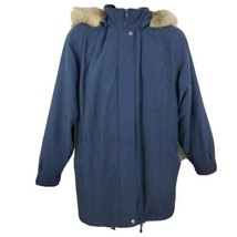 Forecaster Sport Men's Blue Hooded Coat Jacket Size 2XL - $34.64