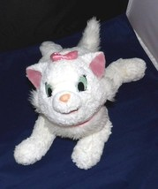 """Disneyland Aristocats MARIE Plush 14"""" White Kitty Cat with Soft Pink Bows - $7.95"""