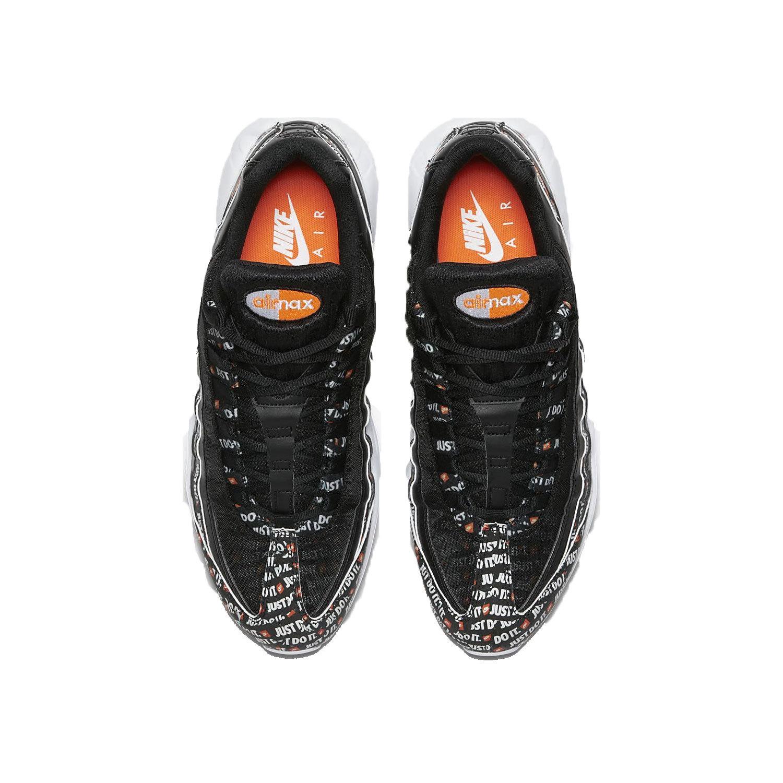buy popular 89952 4919c Nike Men s Air Max 95 SE Black White Orange AV6246-001