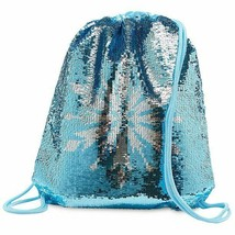 Cute Disney Frozen 2 Reversible Sequin Swim Girls Kids Bag Blue - $25.73