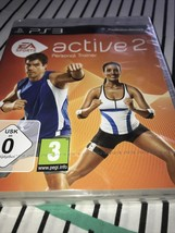 ps 3 active 2 personal trainer - new sealed - disc only sealed - $15.01