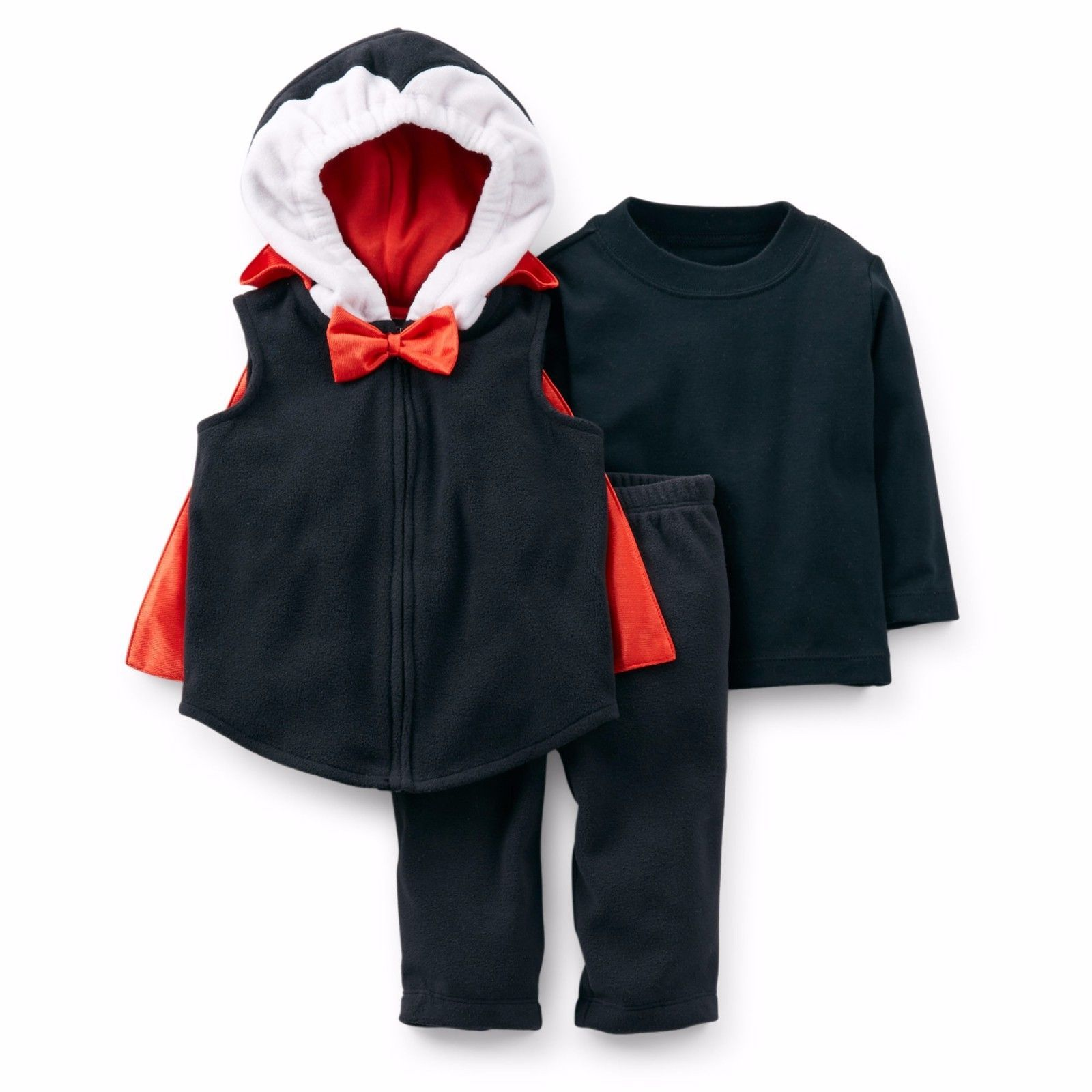 NEW NWT Boys Carter's Halloween Vampire Costume Size 12 Months
