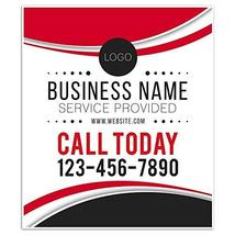 Business Window Service Retail Custom Large Format Sign - $20.29