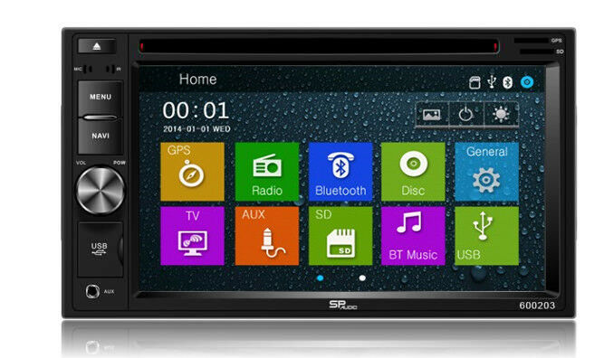 DVD GPS Navigation Multimedia Radio and Dash Kit for Honda Pilot 2004 image 2