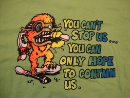 Bowlers Pro Shop Milwaukee WI Slogan Monster Funny Bowling Green T Shirt SIze XL - $15.53