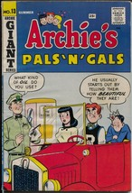 Archie's Pals 'n' Gals #13 1960-Betty & Veronics-Giant Issue-VG/FN - $56.75