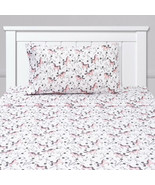 Prancing Unicorns & Stars White Pink Kids Sheet Set Twin, Twin XL, Full - $23.99