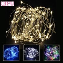 2018 Christmas Light Led Copper Wire String Light Battery Operated Lights - $2.73+