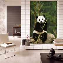 3D Adorable Panda 216 Wall Paper Wall Print Decal Wall Deco Indoor AJ Wa... - $32.15+