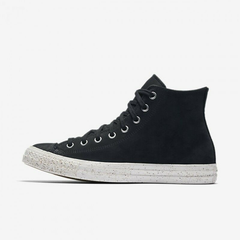 Primary image for Converse Unisex Chuck Taylor All Star HI Shoes NEW AUTHENTIC Black/Grey 157524C