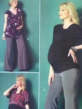 Butterick Sewing Pattern 5964 Misses Maternity Leggings Pants Size 6-14 New - $17.14