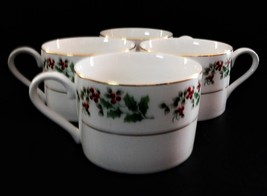 Christmas Charm Gibson Housewares Designs Cup Mug Holiday Holly Berry - $33.66