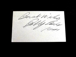 BOBBY BONDS YANKEES GIANTS ANGELS OF'ER SIGNED AUTO INDEX 1971 CARD PSA/DNA - $29.69