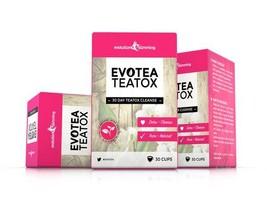 EvoTea Teatox Detox Herbal Weight Loss Slimming Tea 3 Boxes (90 Tea Bags) - $64.99