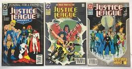 DC Comics Justice League America #70, 71 & 72 Funeral For A Friend VF/NM - $20.57