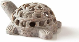 Turtle Figurine Carved From Stone - $38.44 CAD