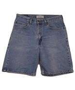 "Levi Strauss Signature Relaxed Fit Denim Shorts Men's W32 Inseam 9"" 100%... - $19.31"