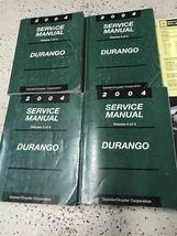 2004 DODGE DURANGO Service Repair Shop Manual Set W Data Book + Bulletin Page image 4