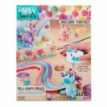 New Alex D.I.Y. Paper Swirls Unicorn Fantasy Roll Shape Create w/ Quilling Tool
