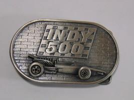 Vintage Collectible Indy 500 Memorial Day NASCAR Racing Belt Buckle 1976 - $49.49