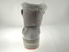 Disney Nala Silver Gray Size 9/10 Girls Princess Winter & Snow Boots image 6