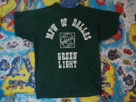 """Vintage MPW of Dallas """"Do It right with Green Light"""" green t shirt M - $17.81"""