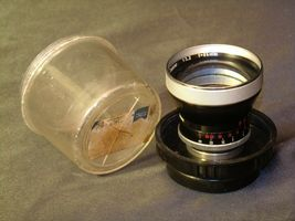 Carl Zeiss Pro-Tessar Lens f=85mm with fitted Zeiss Ikon Case AA-192031 Vintage image 3