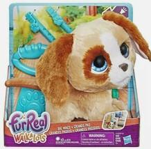 Fur Real Walkalots Big Wags Pup By Hasbro Age 4+ - $21.78