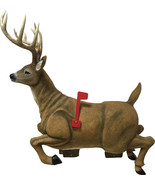 "Rivers Edge 38"" Long Deer Mailbox - Home Deer Stag with Antlers & Flag M... - $268.00"