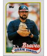 1989 Topps Baseball Card, #179, Ozzie Virgil, Atlanta Braves - $0.99