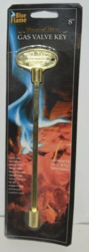 Blue Flame NKY0802 Universal Decor Gas Valve Key Gold Color