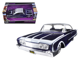 """1960 Ford Starliner Purple \""""Outlaws\"""" 1/26 Diecast Model Car by Maisto - $34.30"""