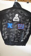 New York Giants Eli Manning Tom Coughlin Mario Manningham 2011-12 Super ... - $749.00
