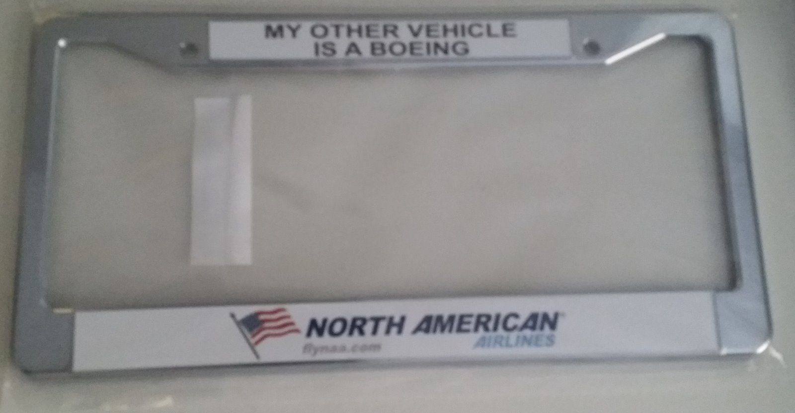 North American Airlines License Plate Frame and 50 similar items