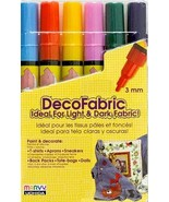 Marvy DecoFabric Fabric Markers (Complementary ... - $9.95