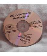 2001 Conference INTERNATIONAL SOCIETY PARAMETRIC ANALYSTS Cost Estimatin... - $6.97