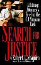 1996 The search for justice: a defense attorney... - $24.77
