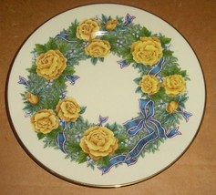 "1998 LENOX ""FREEDOM"" Roses Decorative Porcelain Collectible Plate - $45.39"