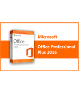 Microsoft Office 2016 Professional Plus | OFFICIAL | Fast Download - USA - $22.99