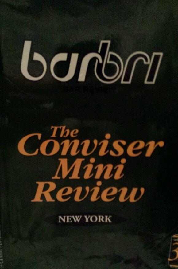 barbri review schedule