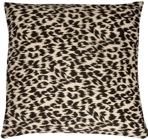 Primary image for Pillow Decor - Leopard Print Cotton Large Throw Pillow