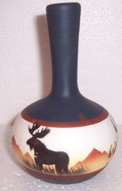 1999 NATIVE INDIAN STYLE CERAMIC VASE POTTERY SIGNED ASTRISTL RWA  - $84.39