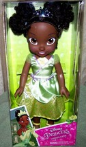 "My First Disney Toddler Tiana 13.5"" Toddler Doll New - $19.50"