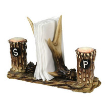 Rivers Edge Antler Salt And Pepper Antler Napkin Holder 520 - $26.82