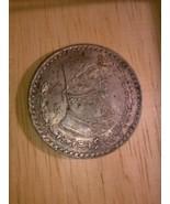 1962 MEXICO Silver 1 Peso Coin - Un Peso - $3.00