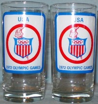 1972 West Germany Olympics USA Glasses - $10.00