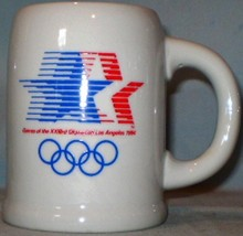1984 Los Angeles Olympics Ceramic Mug - $8.00