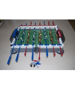 Mega Bloks Shootout Soccer Lego Foosball Table ... - $49.95