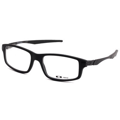 3b3059a43c Image. Image. Previous. New Authentic Oakley TRAILMIX OX8035 01 Satin Black  Eyeglass Frame 54MM