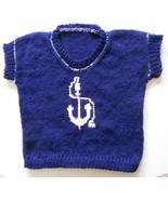 Baby Blue Nautical Sailor Sweater - $24.95